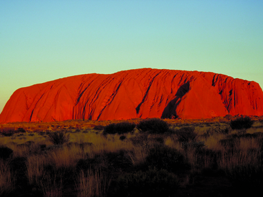 destination Ayers Rock
