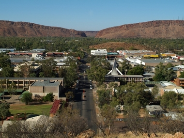 destination Alice Springs